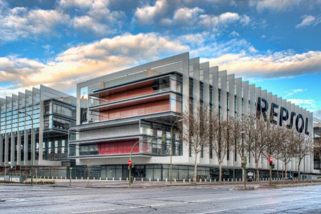 Vista general de la sede de Repsol en Madrid.