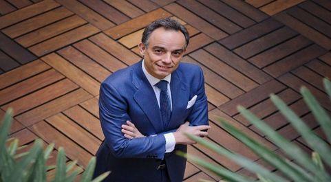 Beltrán en la sede de McKinsey en Madrid, antes del estallido de la...