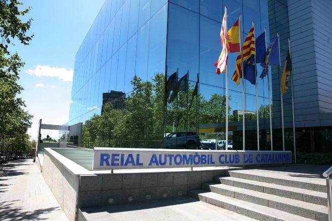 Sede central del RACC en la Avenida Diagonal de Barcelona, en una...