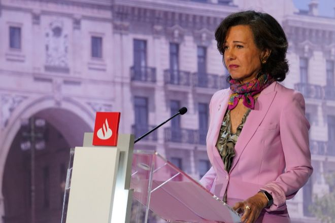 Ana Botin es la presidenta de Santander.