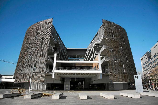 La sede del Parc de Recerca Biomèdica de Barcelona (PRBB), situada...