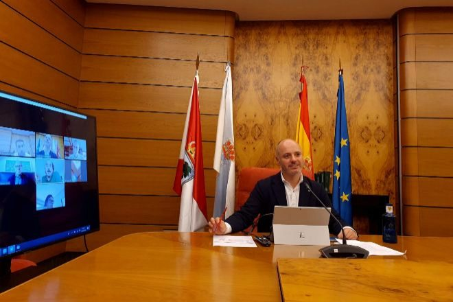 David Regades, delegado del Estado en COnsorcio Zona Franca de Vigo,...