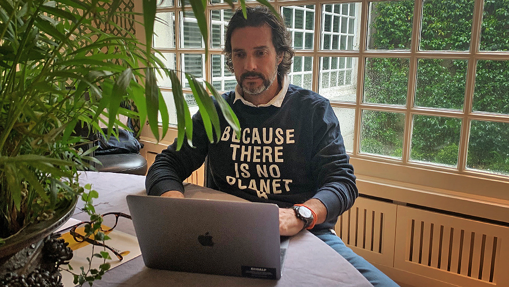 "Javier Goyeneche, creador de Ecoalf: ""Abriremos el primer día que ..."
