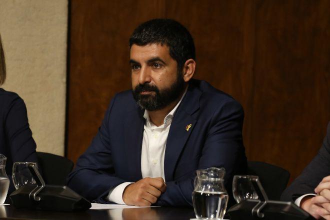 El conseller de Treball, Afers Socials i Famílies, Chakir el Homrani...