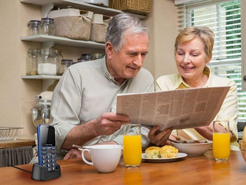 Los mejores teléfonos móviles en Amazon para la gente más mayor