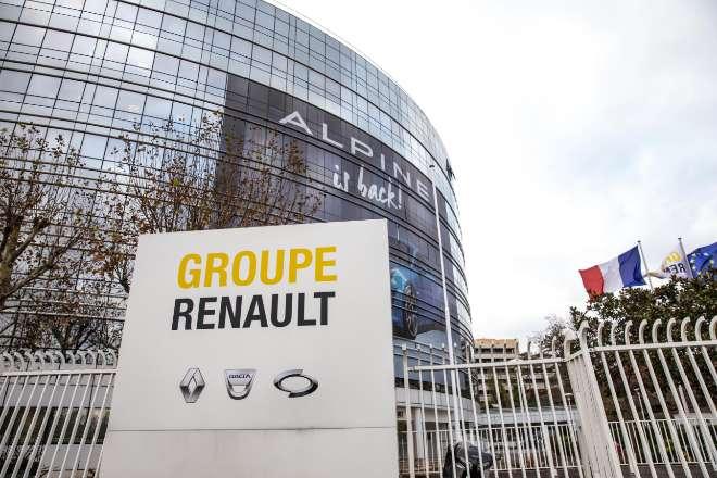 Sede de Renault en en el distrito parisino de Boulogne Billancourt.