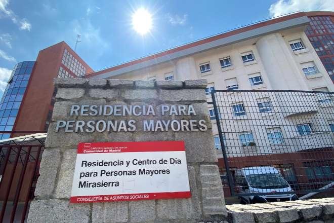 Residencia para personas mayores en Madrid.