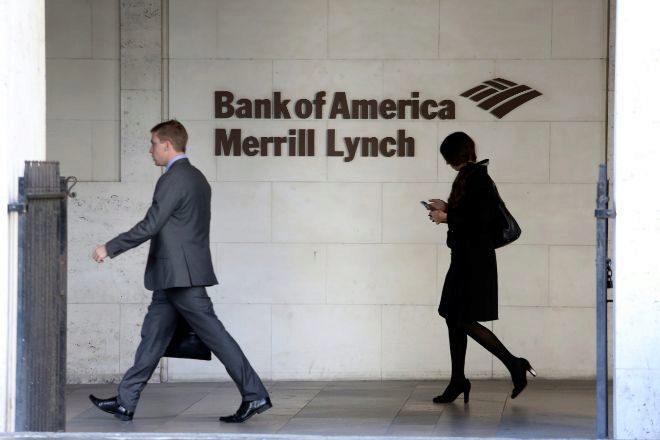 Sucursal de Bank  of America Merrill Lynch en Londres.
