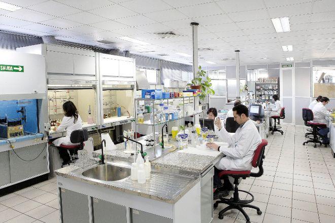 Laboratorio de Biosearch en Granada.