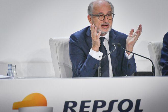 Antonio Brufau es el presidente de Repsol.