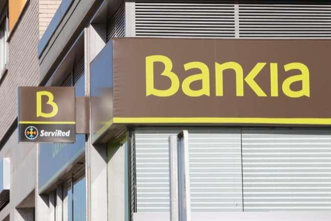Oficina de Bankia en Madrid.