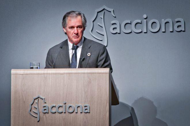José Manuel Entrecanales preside Acciona, primer accionista de...