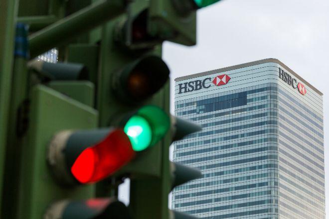 Edificio de HSBC en Londres.