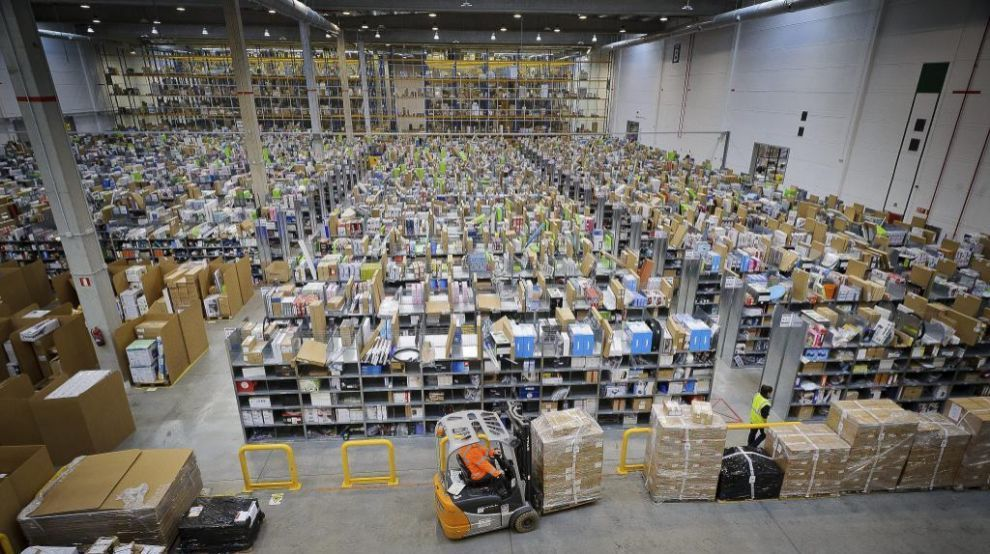Centro Logístico de Amazon en Madrid