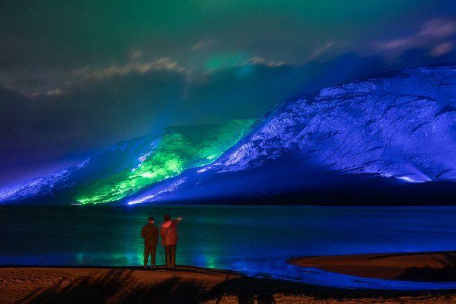 Instalación artística en Connemara, en Galway, Capital Europea de la Cultura 2020. Savage Beauty, la instalación de luz más grande del mundo, puede verse online.