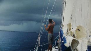 Tassio Azambuja, durante 'Sea Pilgrim'. | SAIL IN FESTIVAL