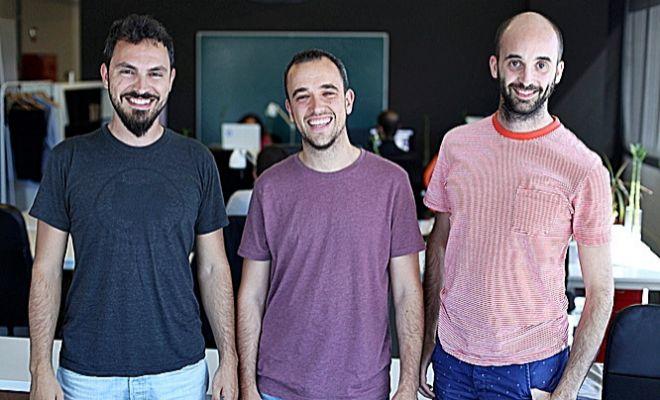 Jordi Romero,Bernat Farrero y Pau Ramon, fundadores de Factorial.