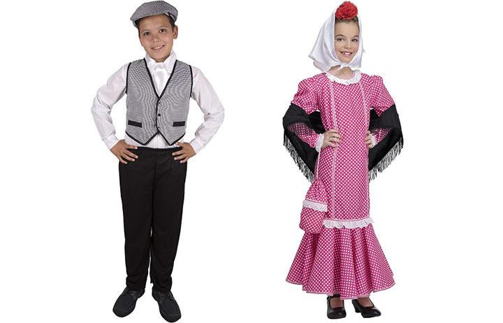 Los mejores trajes de chulapo y vestidos de chulapa para que los ...