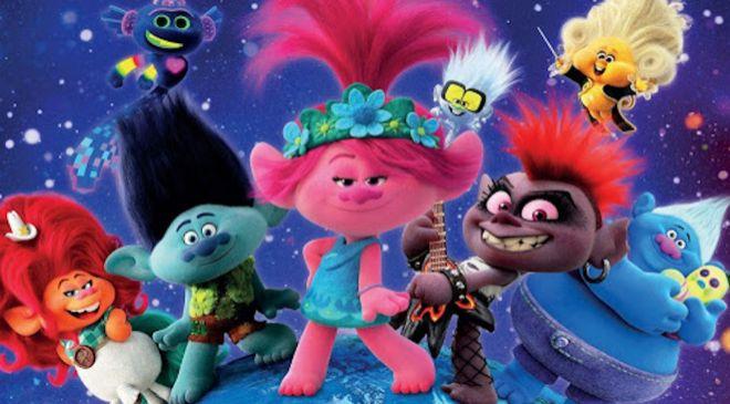 Fotograma de la película 'Trolls World Tour' que NBC...