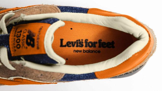 Unos Levis para los pies, como dice la leyenda en el interior de la zapatilla.