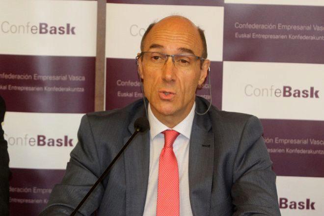 Eduarzo Zubiaurre, presidente de Confebask.