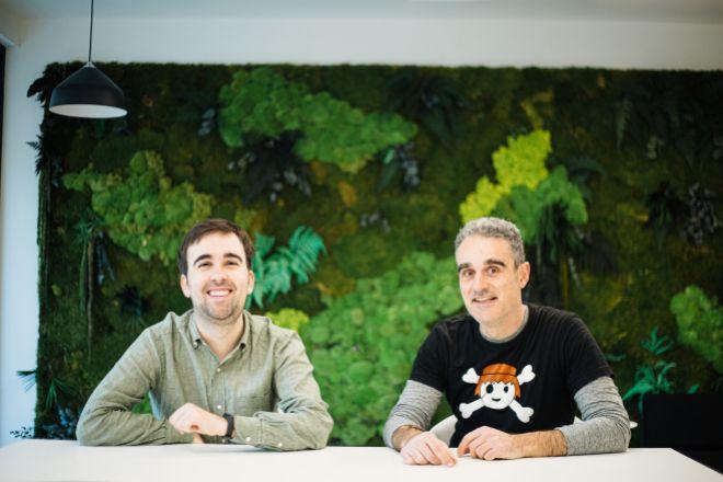 Alvaro Verdoy e Iban Borrás, fundadores de Sales Layer.