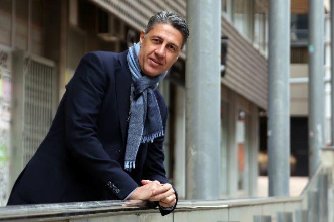 El nuevo alcalde de Badalona (Barcelona), Xavier García Albiol, quien...