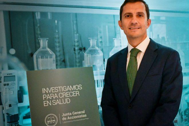 Javier López-Belmonte, vicepresidente y director financiero de Rovi.