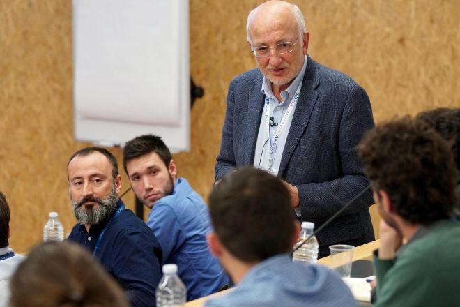 Roig, en una sesión con emprendedores.