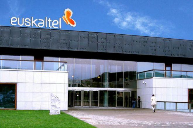 Sede central de Euskaltel en Bizkaia.