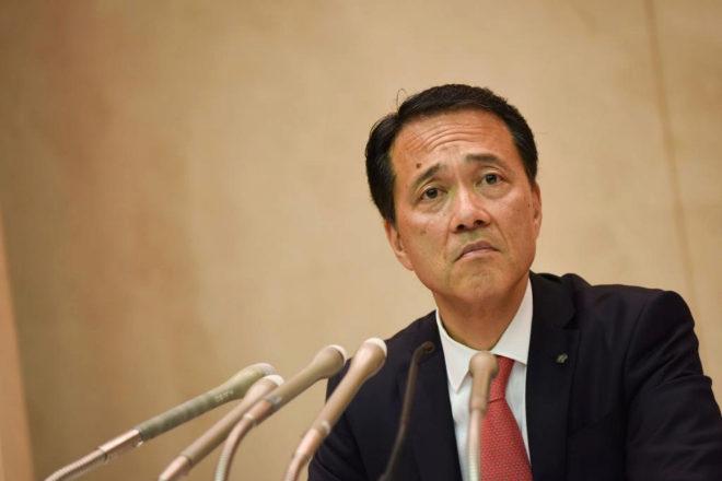 Kentaro Okuda, CEO de Nomura.