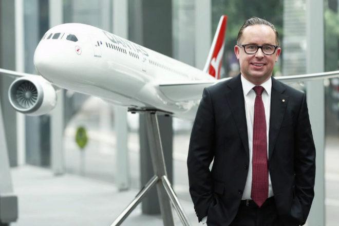 Alan Joyce, CEO de Qantas Airways.