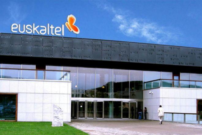 Sede de Euskaltel en Bizkaia.