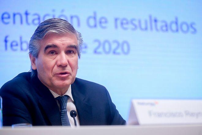 Francisco Reynés, presidente de Naturgy en la presentación de los resultados de 2019.