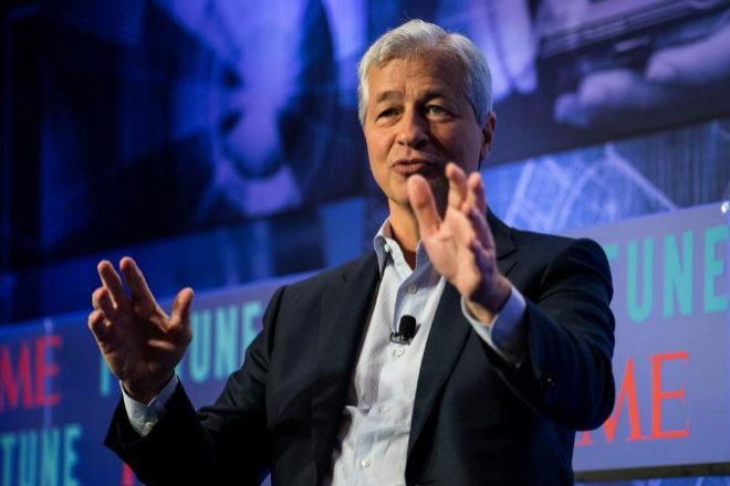 Jamie Dimon, CEO de JPMorgan.
