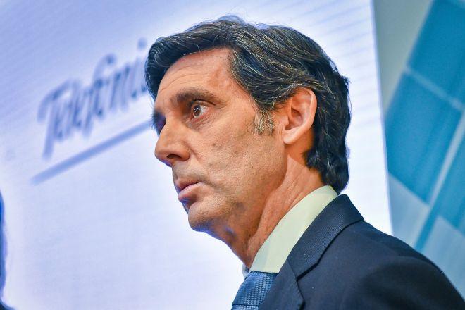 El presidente del grupo Telefónica, José María Álvarez- Pallete.