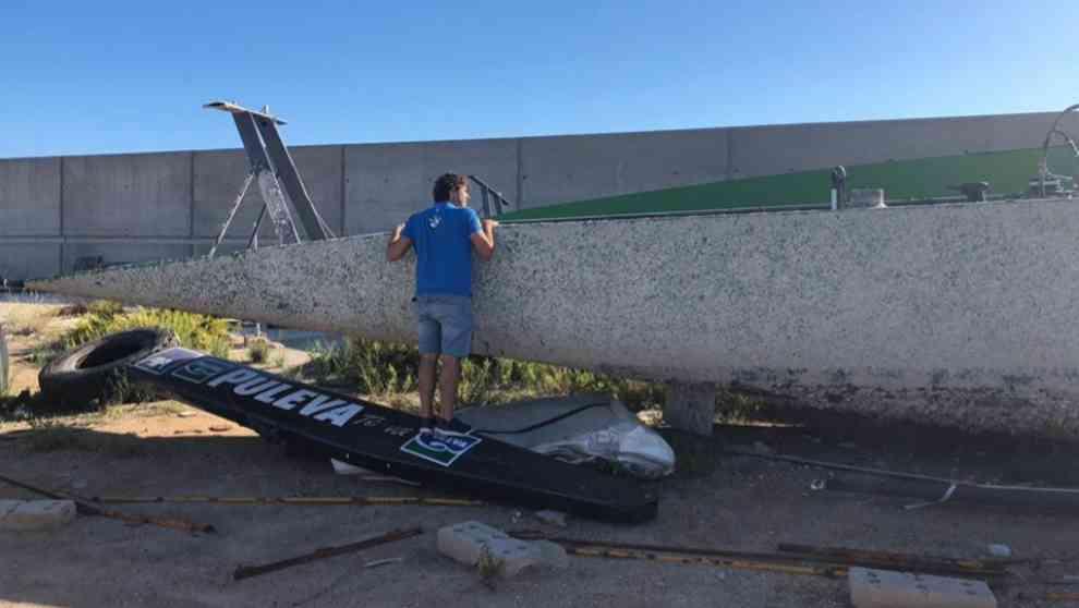 El proyecto fundado por Manuel Sanz y Carlos Martínez busca reciclar...