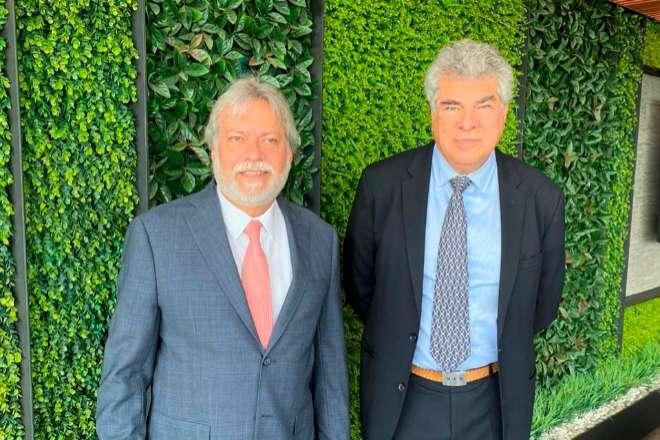 Luis y Mauricio Amodio, propietarios de la constructora Caabsa.