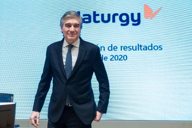 Francisco Reynés, presidente de Naturgy en la presentación de resultados de 2019.