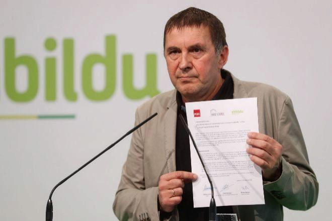 El coordinador general de EH Bildu, Arnaldo lt;HIT gt;Otegi lt;/HIT gt;.