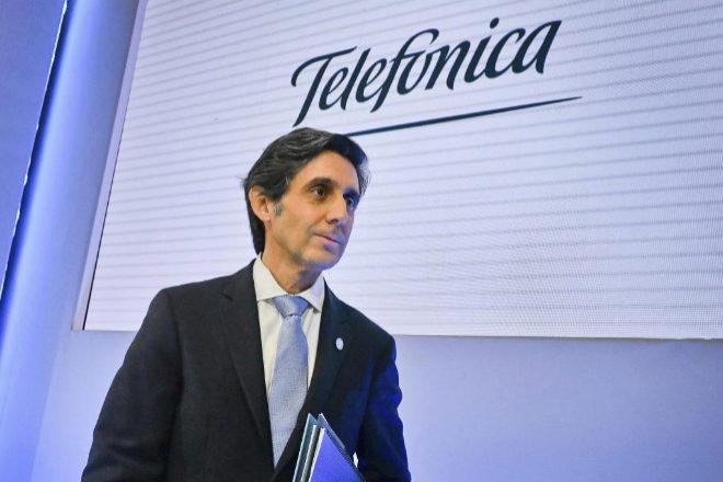 Jose María Álvarez-Pallete, presidente de Telefónica.