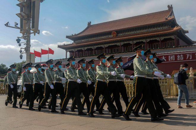 Plaza de Tiananmen, en Pekín.