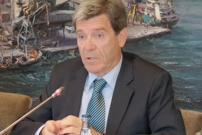 Aurelio Martínez, presidente de la Autoridad Portuaria de Valencia.