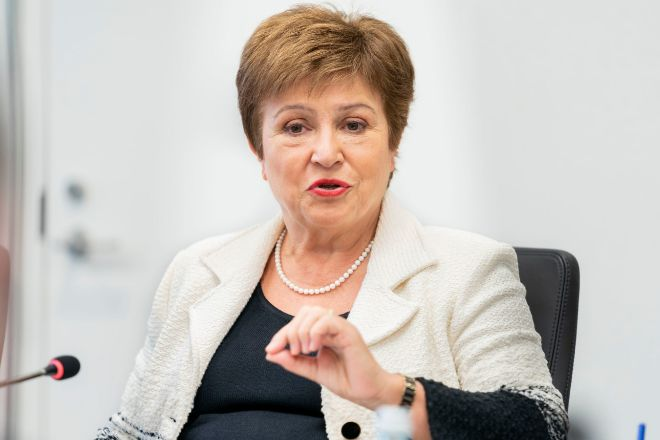 Kristalina Georgieva: Los bancos deben conservar capital