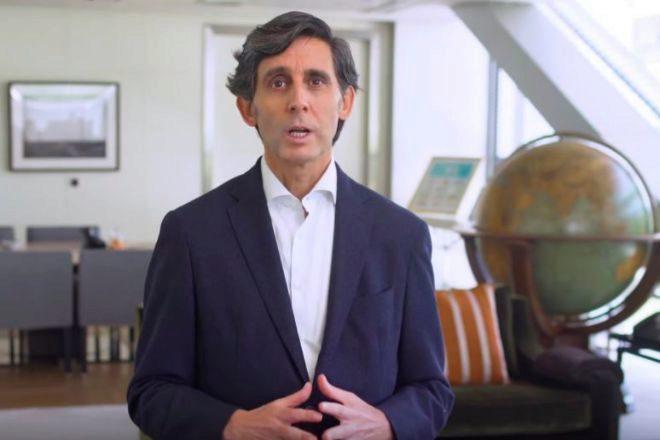 El presidente de Telefónica José María Álvarez-Pallete.