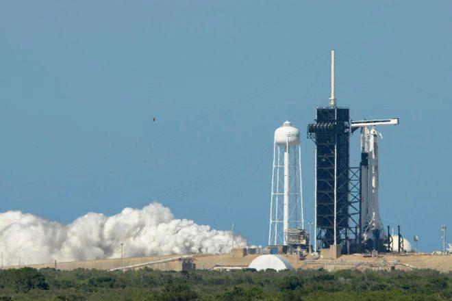 SpaceX y la NASA lanzarán un cohete con dos astronautas el próximo miércoles