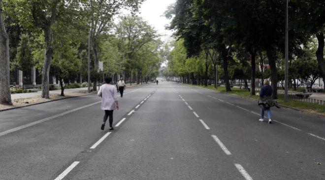 El Paseo del Prado ha sido una de las avenidas que Madrid ha decidido...