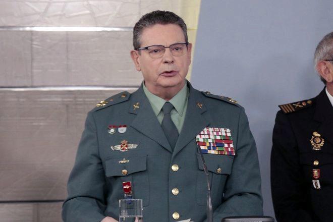 El director operativo adjunto de la Guardia Civil, Laurentino Ceña.