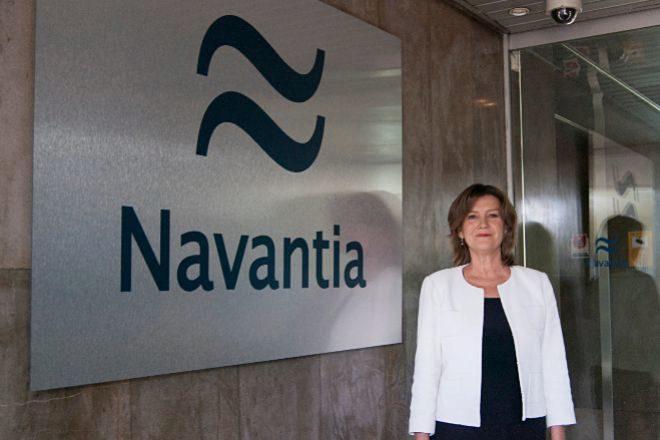 Susana Sarriá es la presidenta de Navantia.