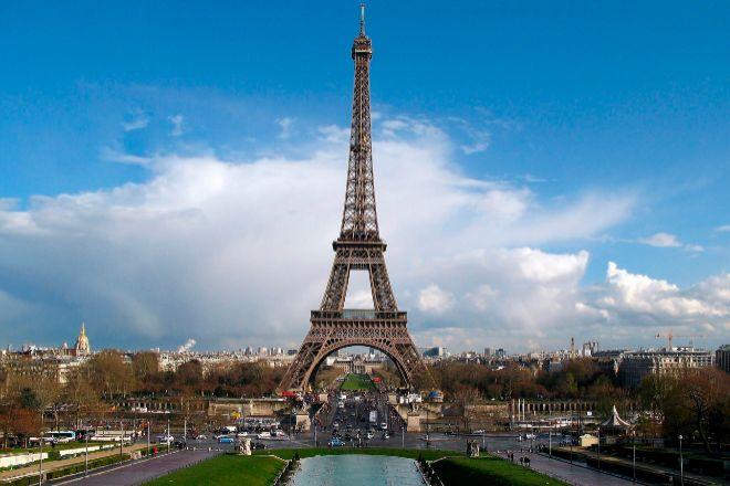 Vista de la Torre Eiffel.